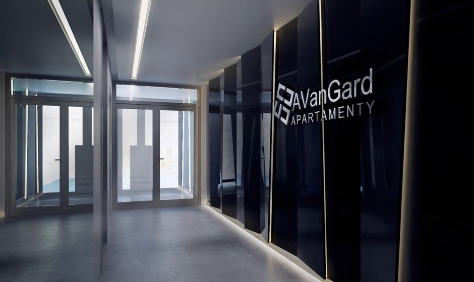 Avangard – entrance zone to the building